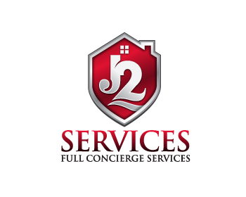 J2 Services logo design