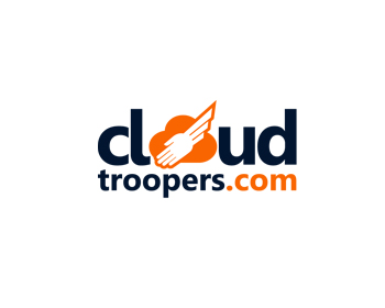 Cloud Troopers logo design