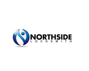 Northside Locksmith logo design