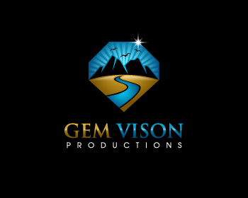 Gem Vision Productions logo design