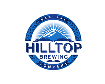 Hilltop Brewing Company logo design