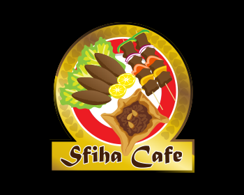 Sfiha Cafe logo design