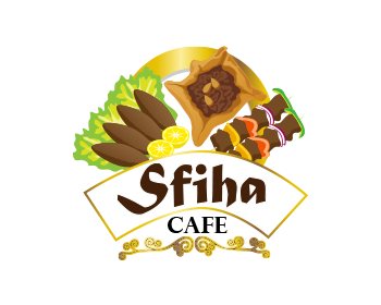 Restaurant logo design for Sfiha Cafe