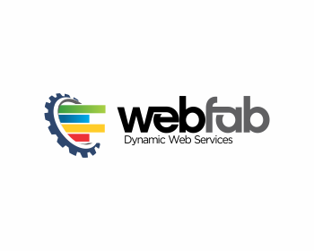 Technology logo design for WebFab