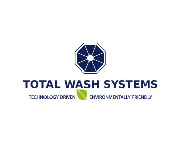 Total Wash Systems logo design