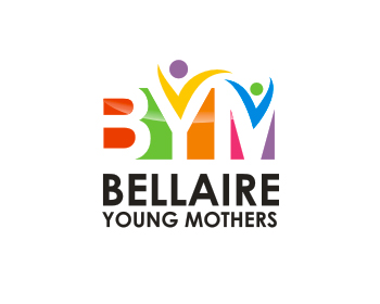 Bellaire Young Mothers logo design