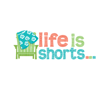 life is shorts... logo design