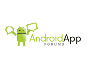 Android App Forums logo design