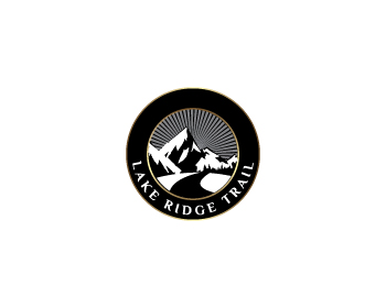 Lake Ridge Trail logo design