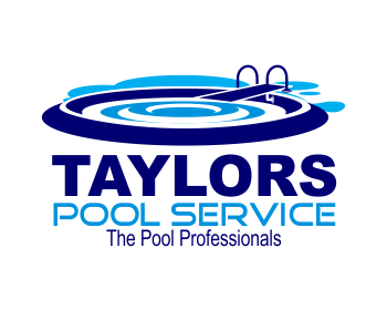 Logo design entry number 3 by 62b taylors pool service for Pool design logo