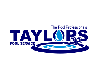Taylors pool service logo design contest logo arena for Pool design logo