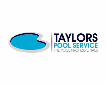 Concorso grafico logo taylors pool service - Swimming pool logo design ...