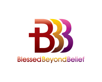 Blessed Beyond Belief logo design