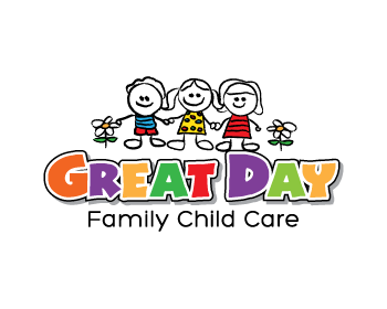 logo design entry number 11 by dbanks great day family child care