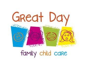 Great Day Family Child Care logo design