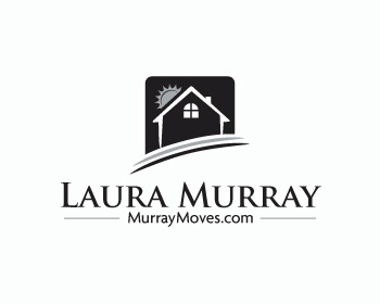 Laura Murray logo design