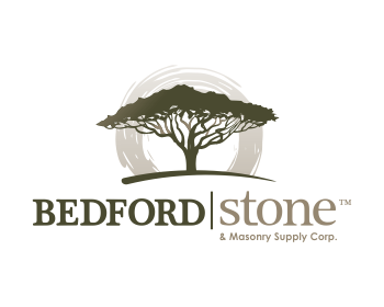 Bedford Stone & Masonry Supply Corp. logo design