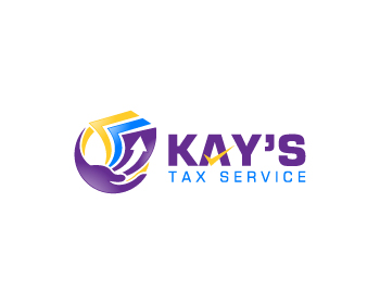 Kay's Tax Service logo design