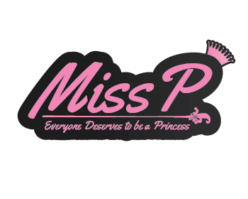 Miss P logo design