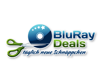 Bluray Deals logo design