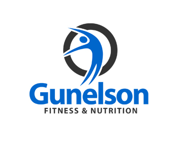 Gunelson Fitness & Nutrition logo design