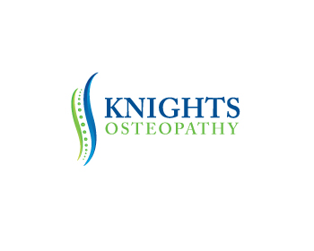 Knights Osteopathy logo design