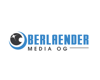 Oberlaender Media OG logo design