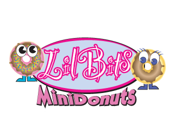 Logo design for Lil Bits Mini Donut's
