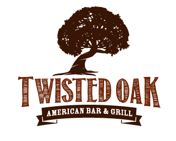 Twisted Oak logo design