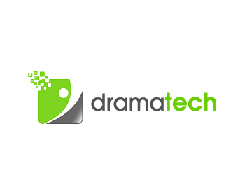 Technology logo design for DramaTech