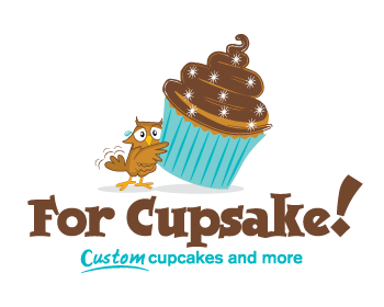 For Cupsake! logo design