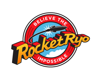 RocketRyo logo design