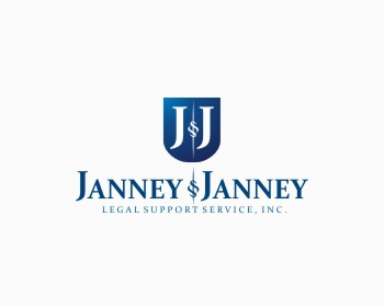 Logo design for Janney & Janney Legal Support Service, Inc.