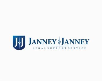 Janney & Janney Legal Support Service, Inc. logo design