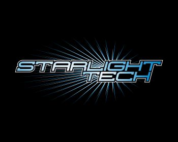Starlight Tech. logo design