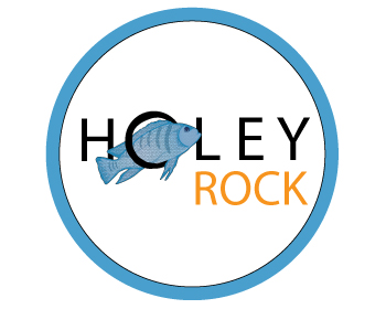 Holey Rock logo design