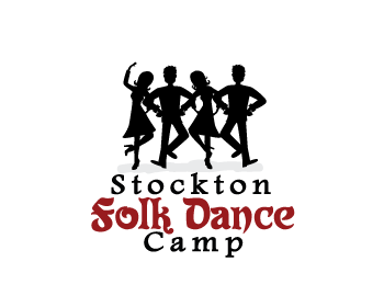 Stockton Folk Dance Camp logo design