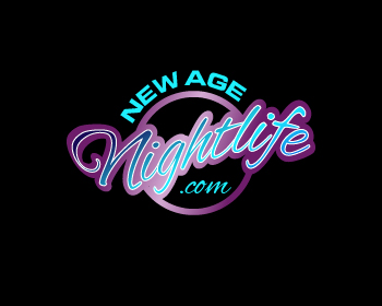 NEW AGE nightlife.com logo design