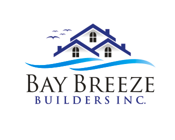 Bay Breeze Builders Inc. logo design
