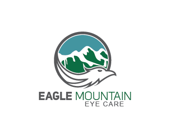Eagle Mountain Eye Care logo design