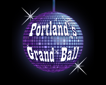Portland's Grand Ball logo design