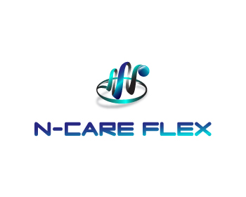 N-Care Flex logo design