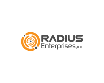 Radius Enterprises, Inc logo design