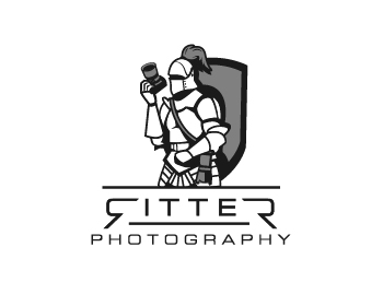 Ritter Photography logo design