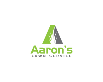 Logo design for Aaron's Lawn Service