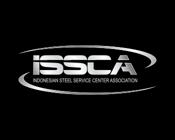 Indonesian Steel Service Centre Association logo design