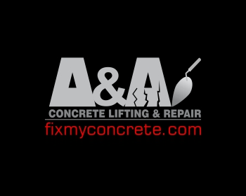 A & A Concrete Lifting & Repair logo design