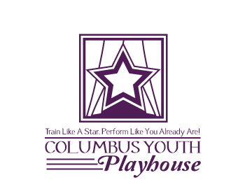 Columbus Youth Playhouse logo design