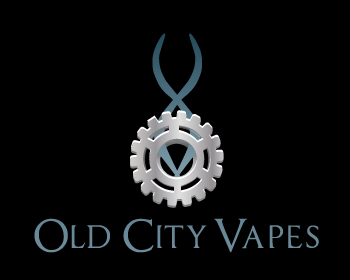 Old City Vapes logo design