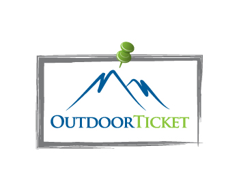 Outdoor-Ticket logo design